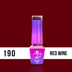 LAKIER MOLLY LAC HEARTS&KISSES RED WINE 5ml nr 190