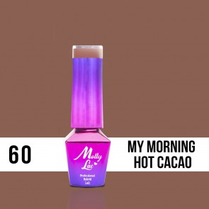 LAKIER MOLLY LAC DELICATE WOMAN HOT CACAO 5ml nr60